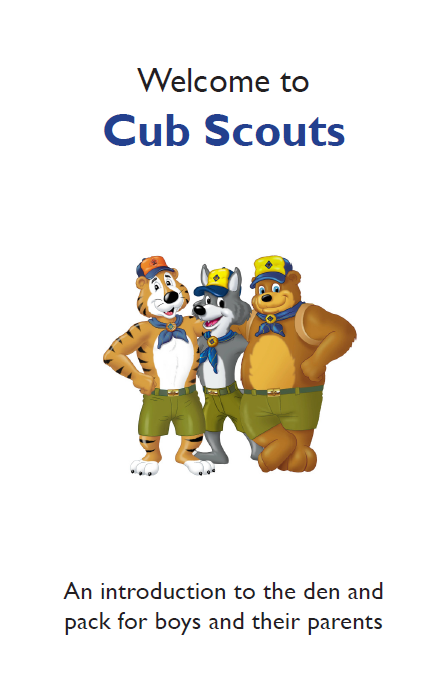 Cub Scout Orientation Booklet