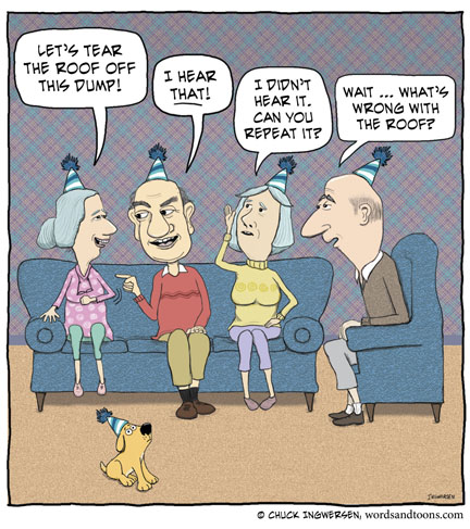 Funny old people pictures cartoon
