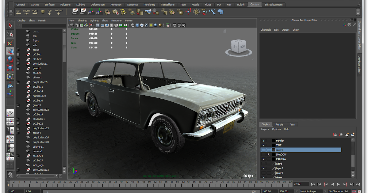 Autodesk maya 2011 full ph n m n thi t k h a 3d it 39 s for Autodesk maya templates