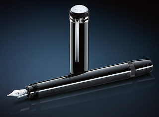 MONTBLANC HERITAGE COLLECTION 1912 BLACK RESIN