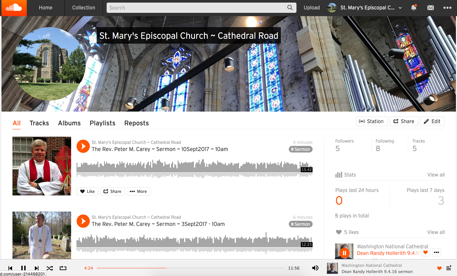 pmc+ sermons on Soundcloud