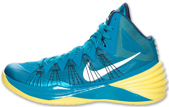 Nike Hyperdunk 2013 Tropical Teal/Midnight Navy-Wolf Grey: