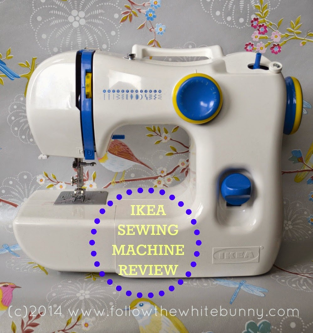 follow the white bunny ikea sewing machine review. Black Bedroom Furniture Sets. Home Design Ideas