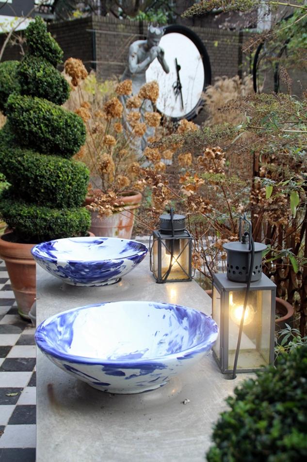 Garten des Hotels Andaz Hyatt Amsterdam