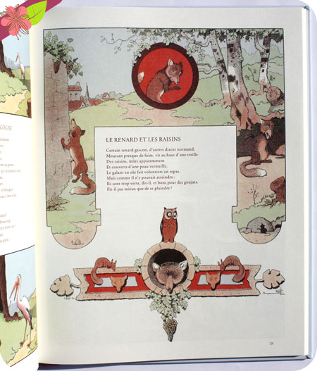 Fables de La Fontaine illustrées par Benjamin Rabier - Mic Mac éditions