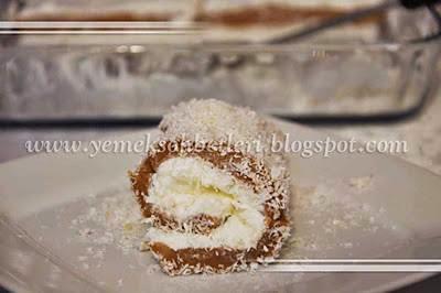 kakaolu muhallebi, muhallebi, rulo muhallebi, sütlü tatlılar, tatlilar, degisik tatli tarifleri
