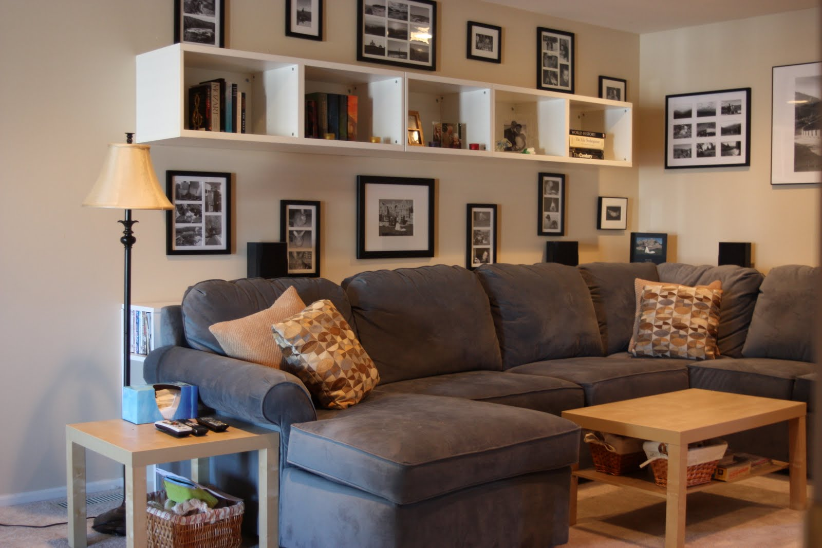 Wonderful Love Bookcase Idea Behind Couch  For The Home  Pinterest