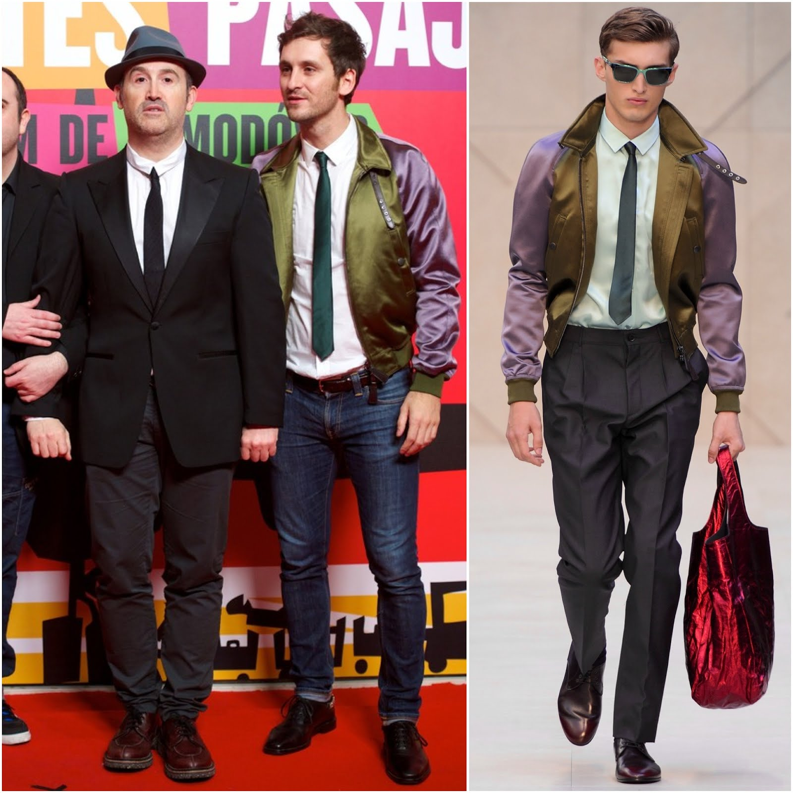00O00 Menswear Blog Raul Arevalo in Burberry Prorsum -