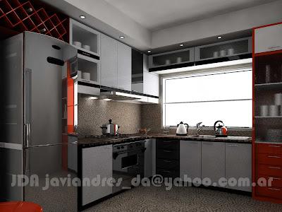 Stands 90s2000 free lance cocina 3d en departamento for Cocinas en 3d gratis