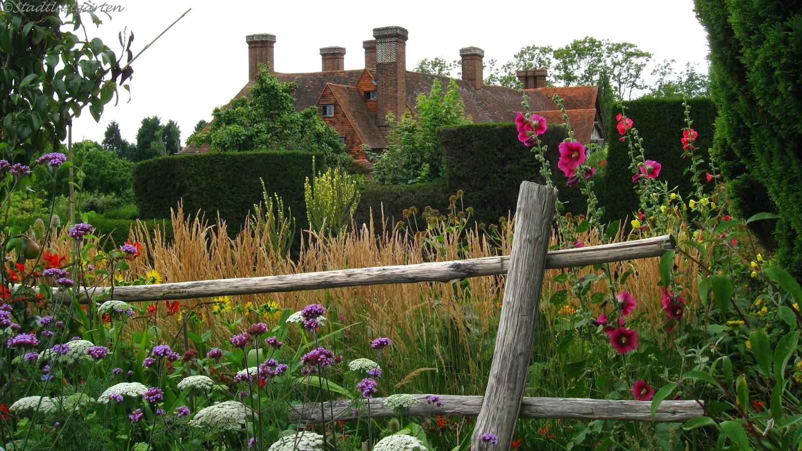 stadtlustgarten englische g rten great dixter house and garden sussex. Black Bedroom Furniture Sets. Home Design Ideas