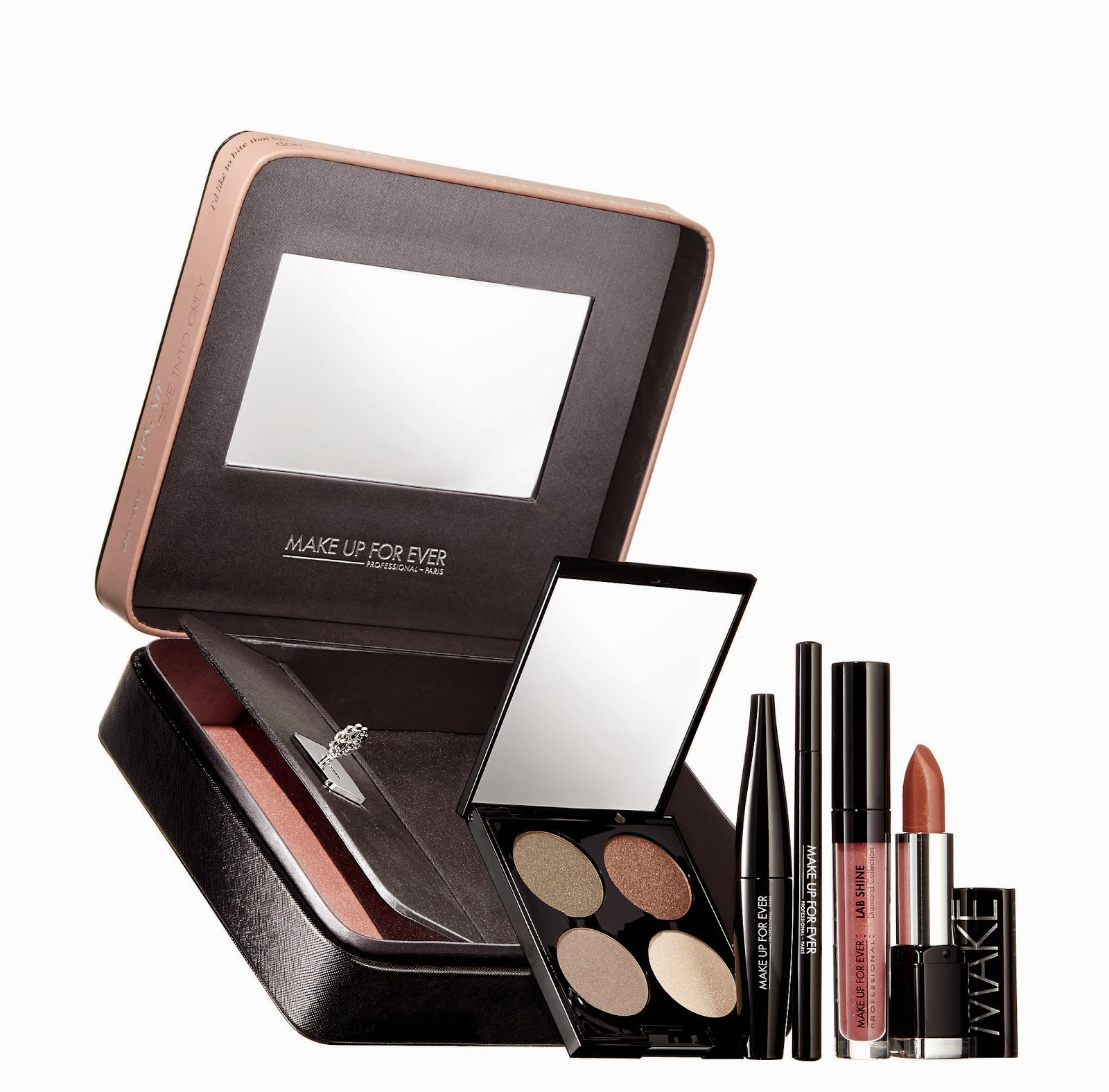 Make Up For Ever, Fifty Shades of Grey Collectio, Give Me Boxed Set