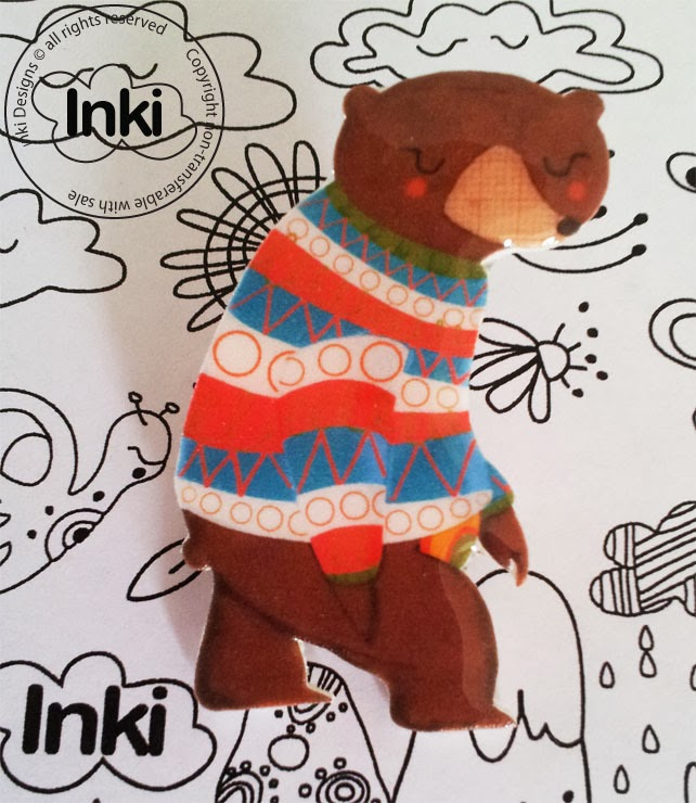 http://folksy.com/items/4490221-Bear-in-a-jumper-Brooch