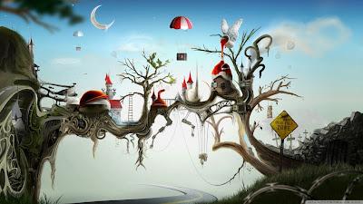 Creative freezone wallpapers 1366x768