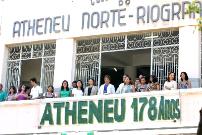 Atheneu chega aos 178 anos de existência e Governo promete reforma para 2013