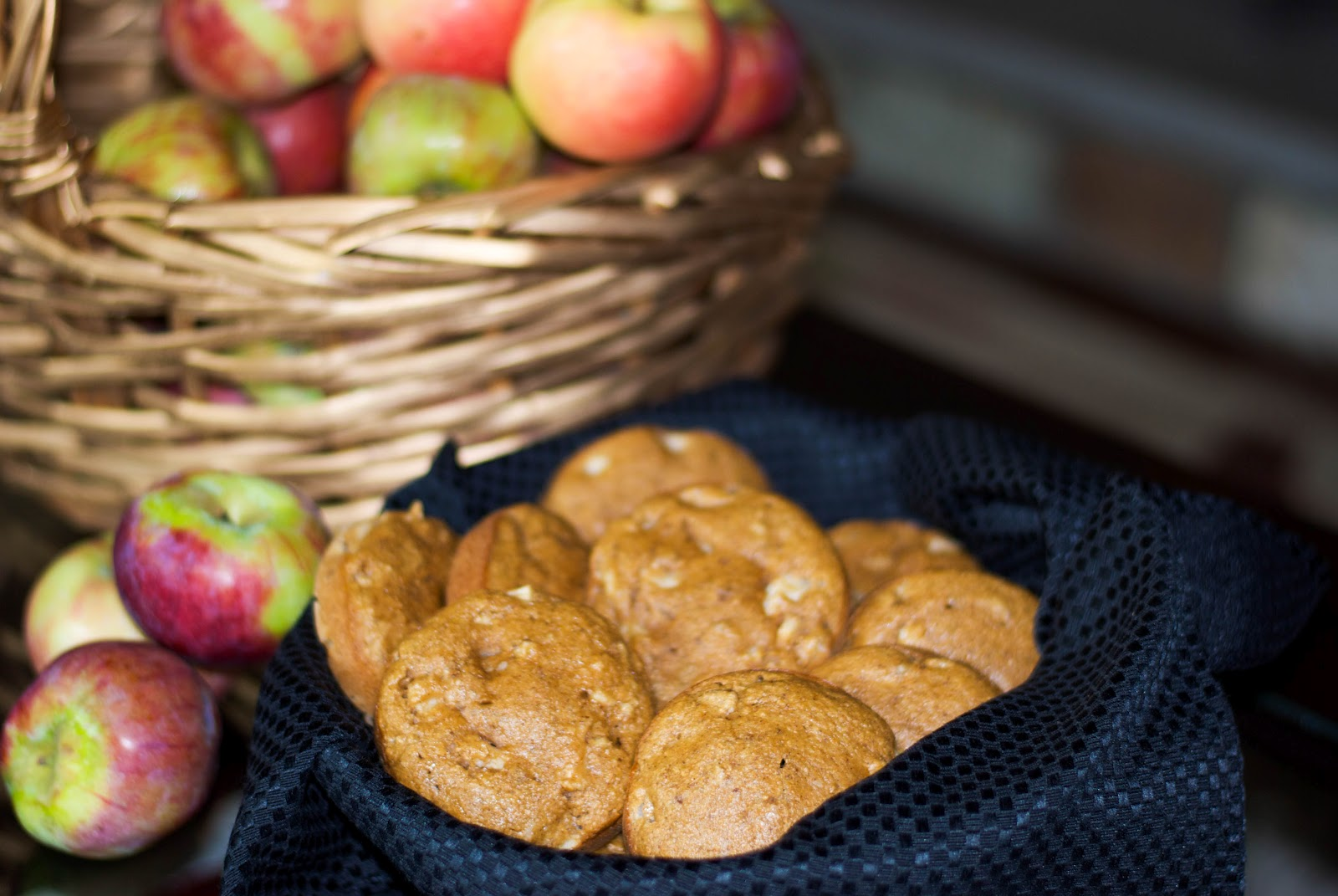Whole Wheat Apple Walnut Muffin Tops - Carrie's ...