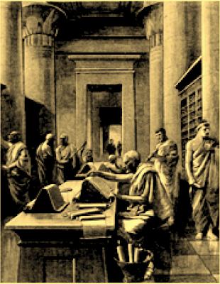 Οι Φιλόλογοι της Αλεξανδρινής Βιβλιοθήκης