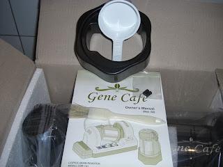 ростер для обжарки зеленого кофе Gene Cafe CBR