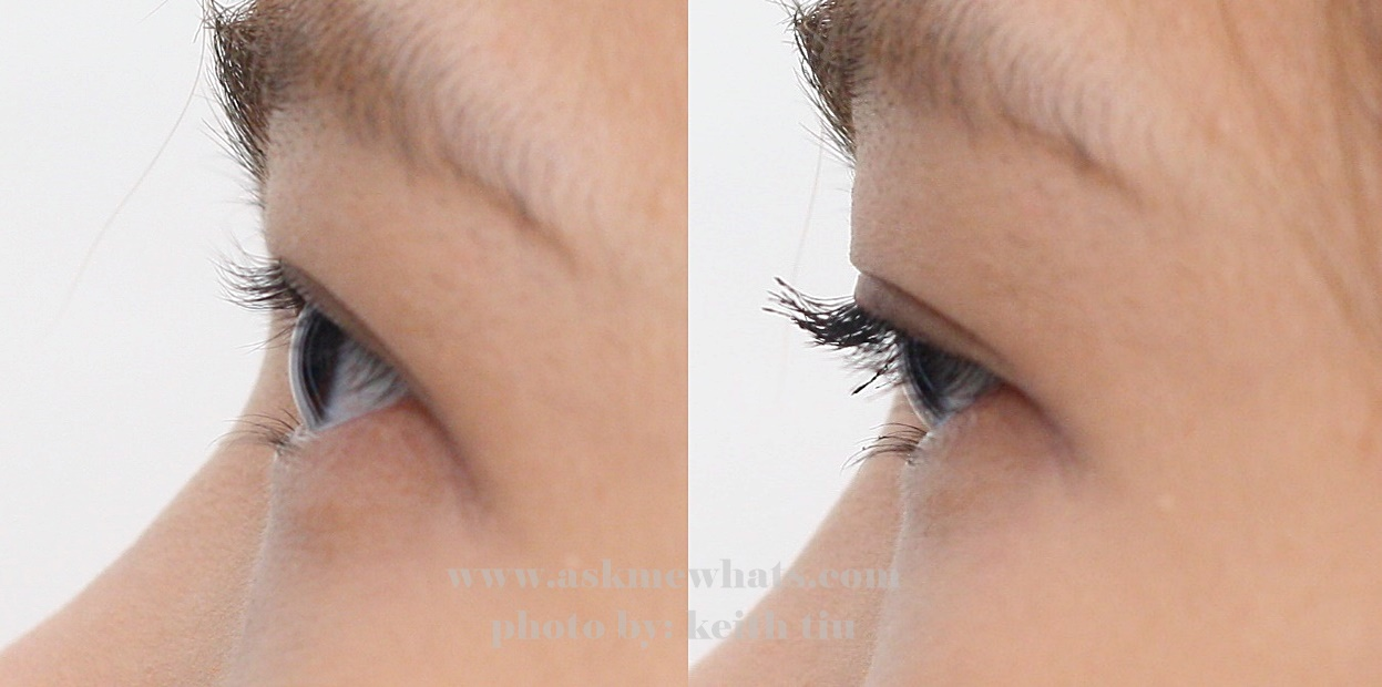 HD Mascara by Browhaus before and after