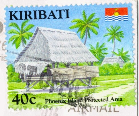 stamp, kiribati, phoenix islands