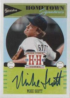 Featured autograph – Mike Scott