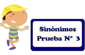 Sinónimos Ejercicios Resueltos Nº 3   Razonamiento Verbal - photo#27