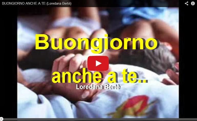 Loredana Bertè - Buongiorno anche a te Amy Winehouse Google