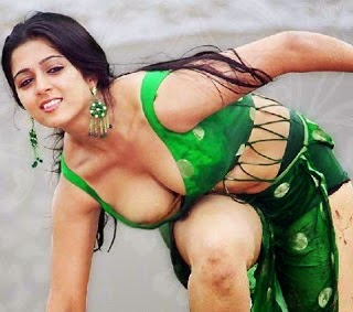 charmi kaur latest unseen hot pics exposing her milky big cleavage hot pics