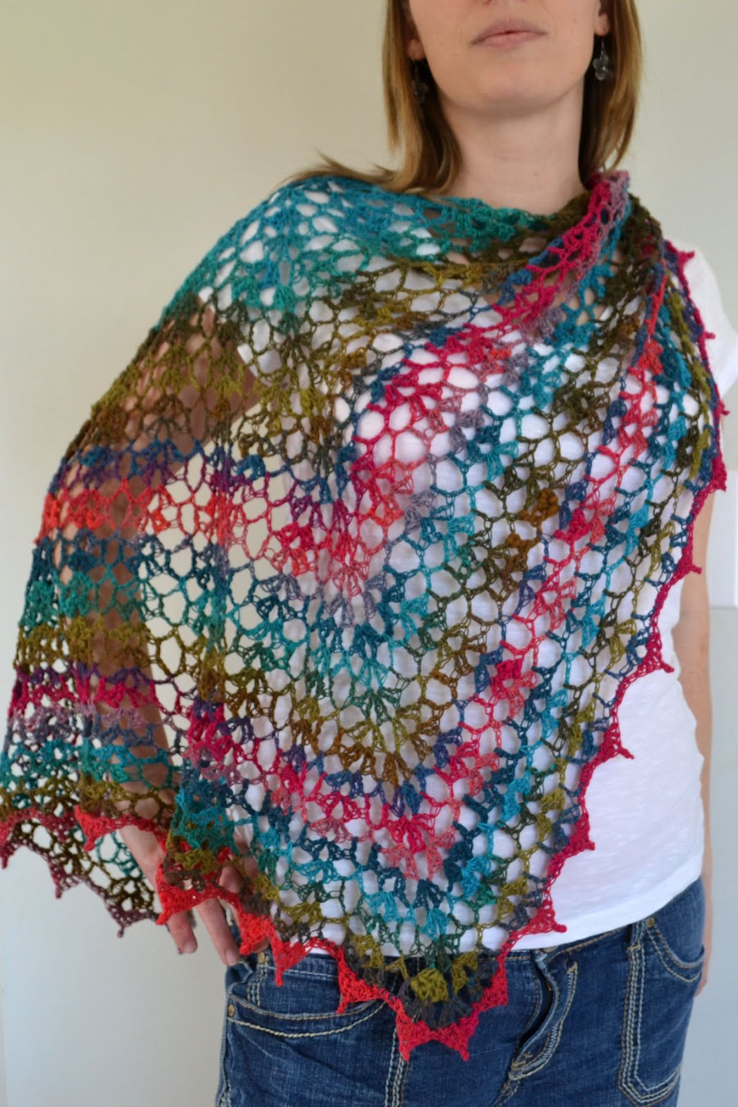 Noro Knitting Patterns : Crochet in Color: My Noro Shawl