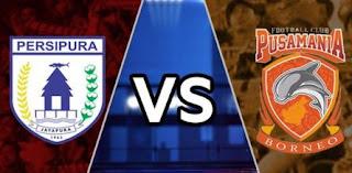 Persipura Jayapura vs  Pusamania Borneo FC
