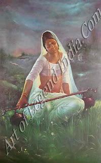 Mirabai Painting