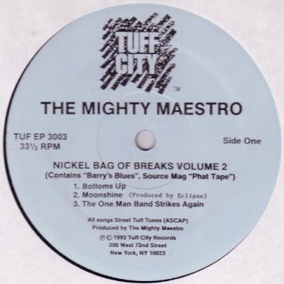 Mighty Maestro – Nickel Bag Of Breaks Volume 2 (1993, 320) VLS