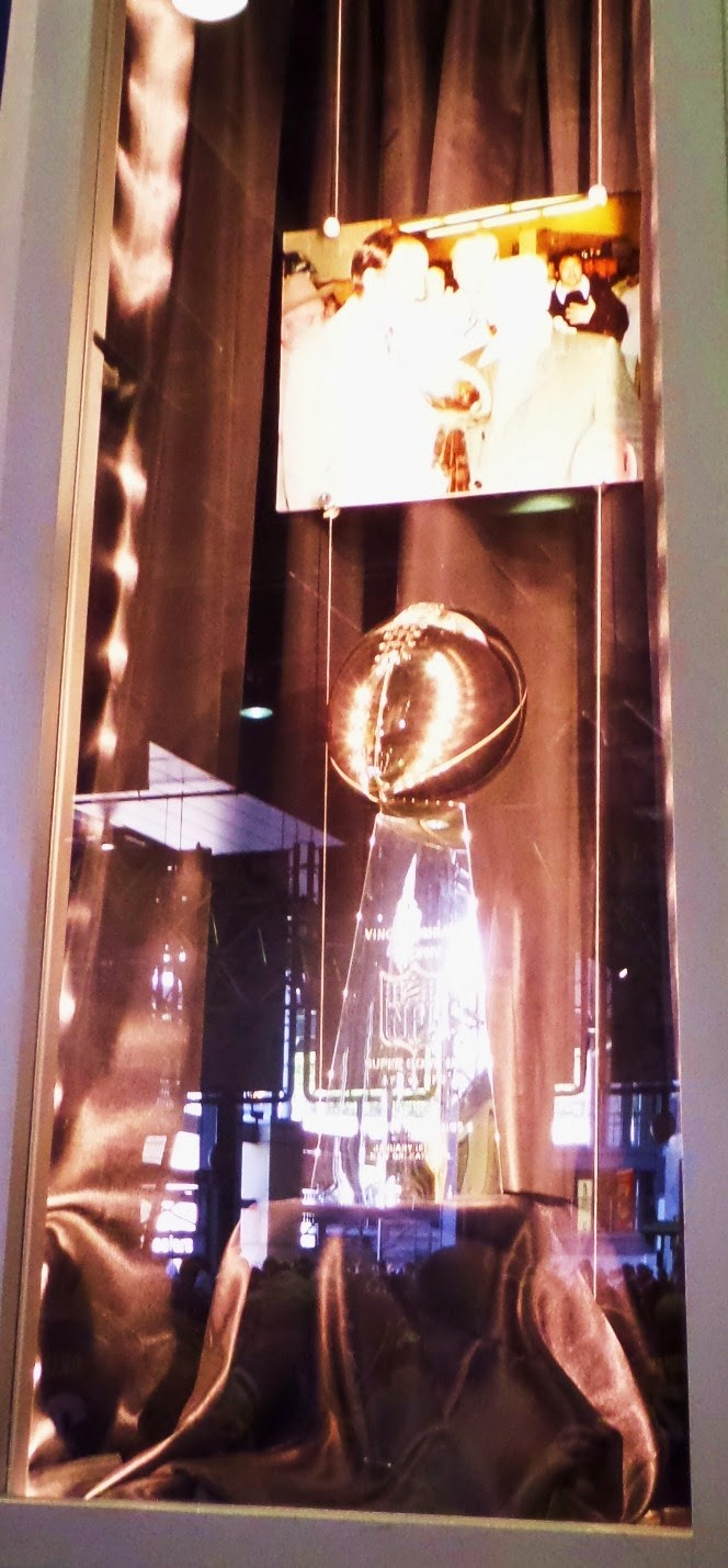 Super Bowl IX Lombardi Case