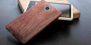 Handphone Android Berbahan Bambu Siap Diproduksi