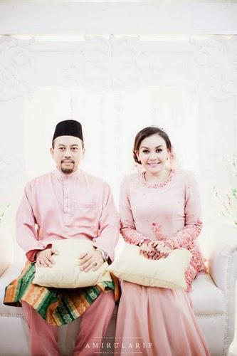 17 Gambar Majlis Pernikahan Intan Azura Dan Wan Rashdan