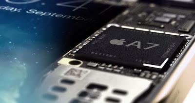 iPhone 5S con procesador A7 64 bit