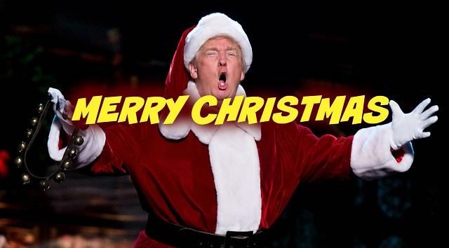 Ν.Τραμπ: «Τέρμα τα 'καλές γιορτές' των νεοταξιτών θα λέμε... 'Καλά Χριστούγεννα' και σε όποιον αρέσει» (βίντεο)