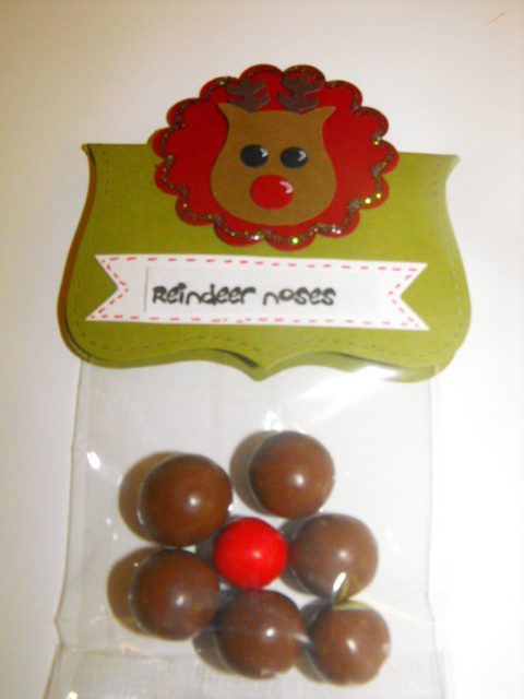 Reindeer Noses - malteasers and a jaffa