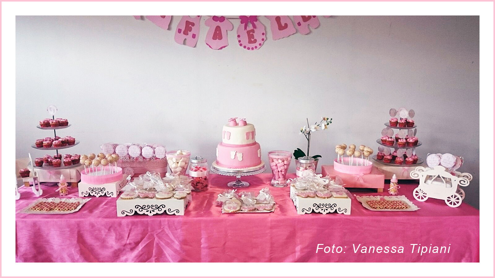 Mesas decoradas para baby shower nia decoracion mesa for Decoracion de mesas para fiestas