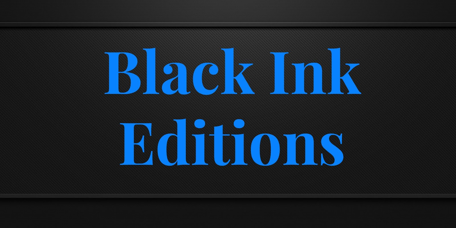 Service Presse Black Ink Editions