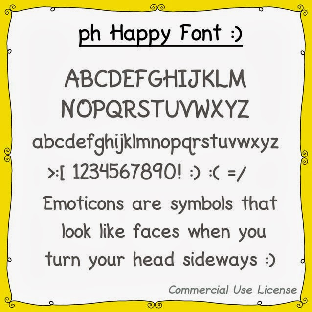 ph Happy Font