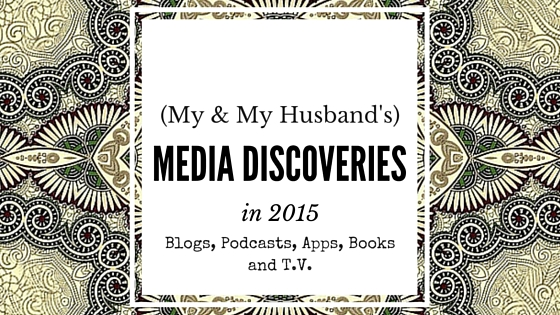 My smart and talented husband, Adam, agreed to join me in this post to add a more cool/geeky side to my reflective/analytical recommendations of what we have been reading and listening to this year.  We weren't sure if all of these were discoveries for us in 2015, but they were definitely a part of our lives this year.