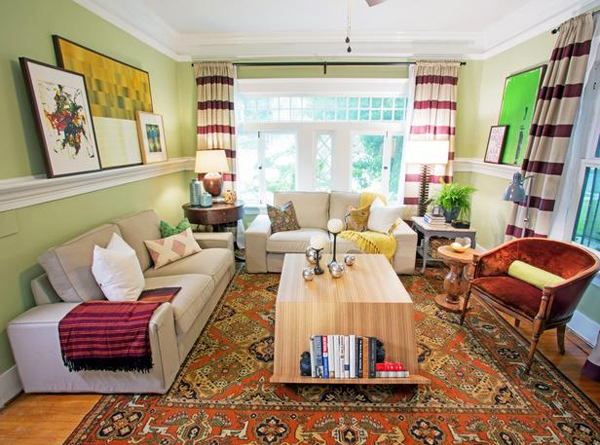 desain ruang tamu mungil dalam rumah minimalis