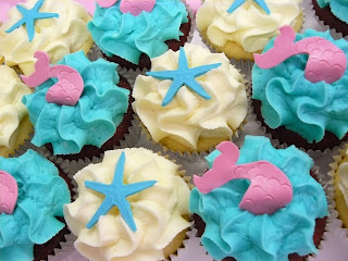 Mermaid Cupckaes