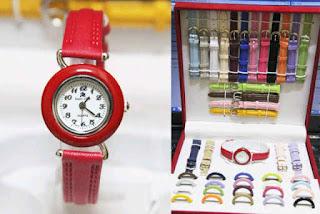 jual Jam tangan Since 21 tali 1 jam murah untuk cewek