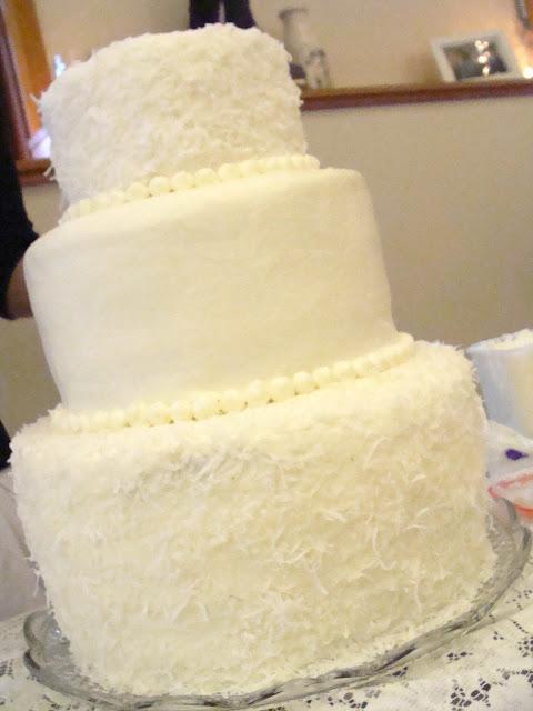Killer Zebras: coconut buttercream frosting - and a wedding cake!