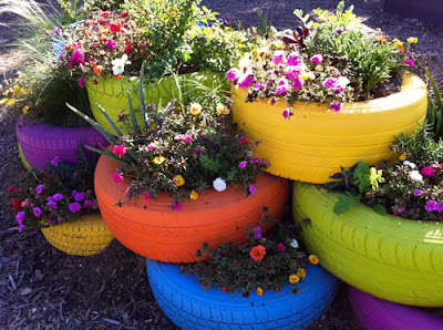 Creative and Cool Ways to Reuse Old Tires (33) 30