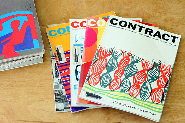 Contract Vintage Magazines And A Few Other Retro Interior Design Office Furniture Catalogs From The Late 60s Early 70s