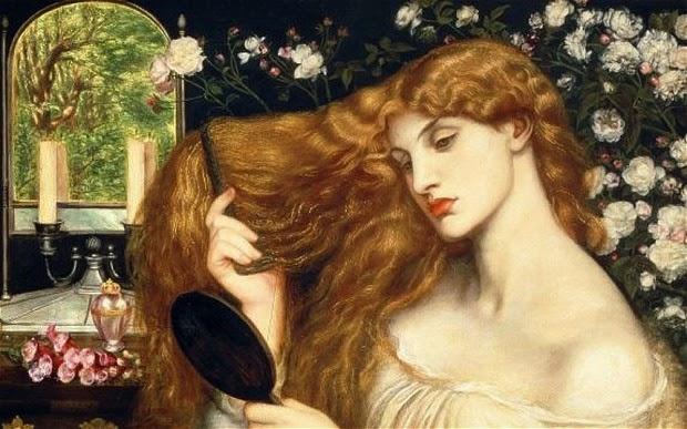 dante gabriel rossetti lady lilith hair