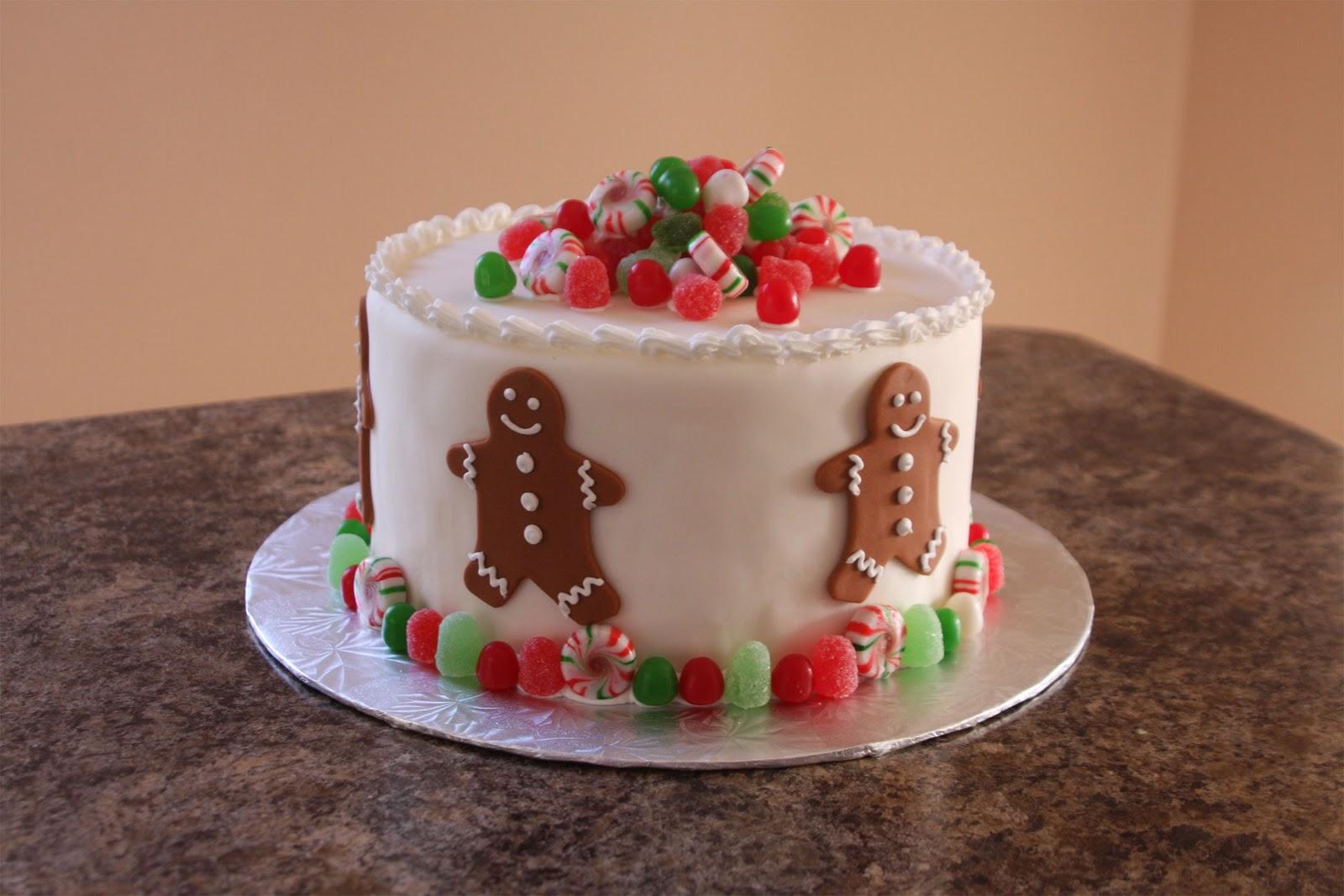 Christinas Kitchen Art Gingerbread Man Cake