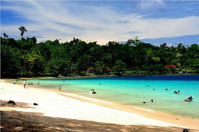 Tempat Wisata di Lampung Pantai Pasir Putih